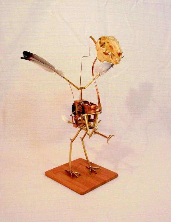 Стимпанк птичка. Археоптерикс. (Фото 8)