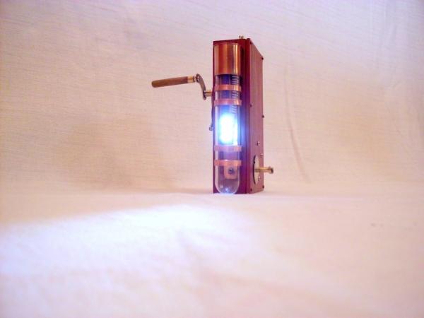Стимпанк фонарик (Фото 5)