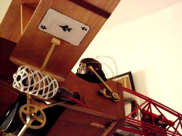 Стимпанк самолет. (Фото 25)