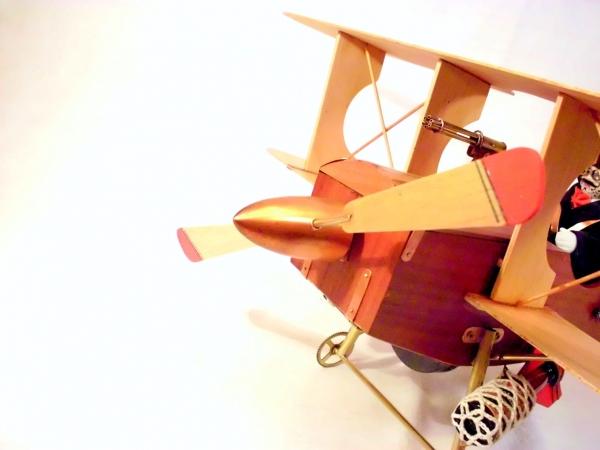 Стимпанк самолет. (Фото 20)