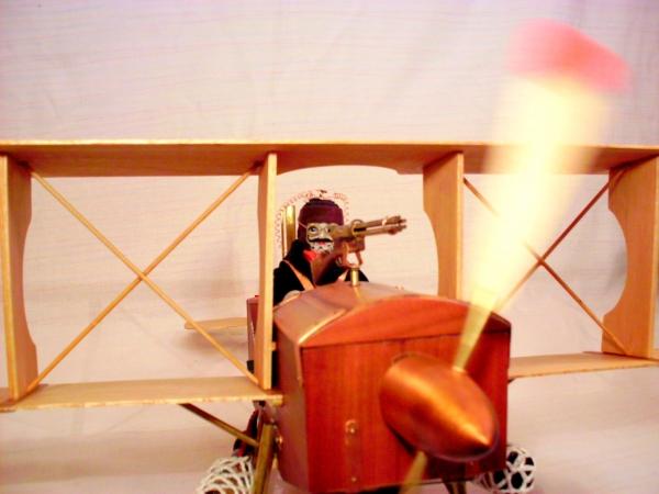 Стимпанк самолет. (Фото 5)