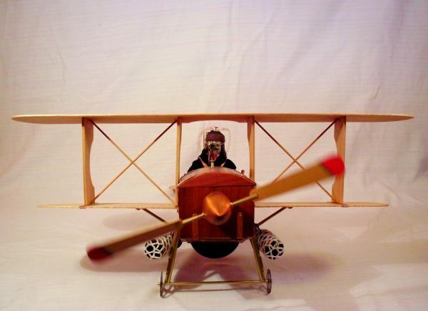 Стимпанк самолет. (Фото 2)