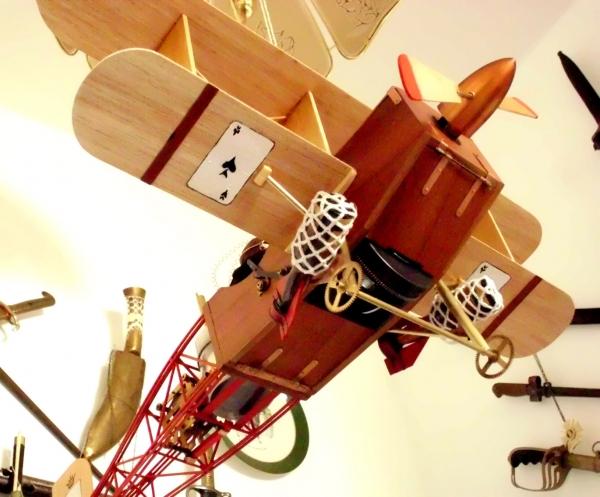 Стимпанк самолет. (Фото 24)