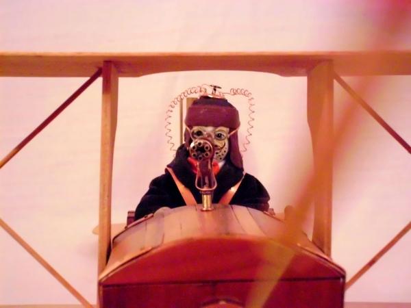 Стимпанк самолет. (Фото 3)