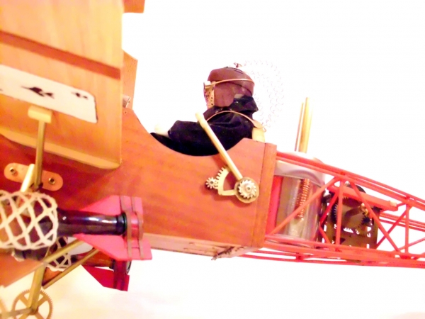 Стимпанк самолет. (Фото 17)
