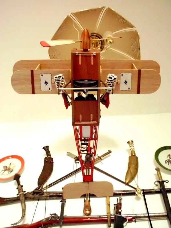 Стимпанк самолет. (Фото 23)
