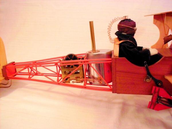 Стимпанк самолет. (Фото 9)
