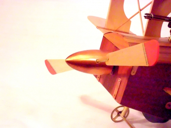 Стимпанк самолет. (Фото 21)