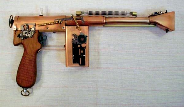 Импульсный лучевой пистолет им. Братьев Маузер