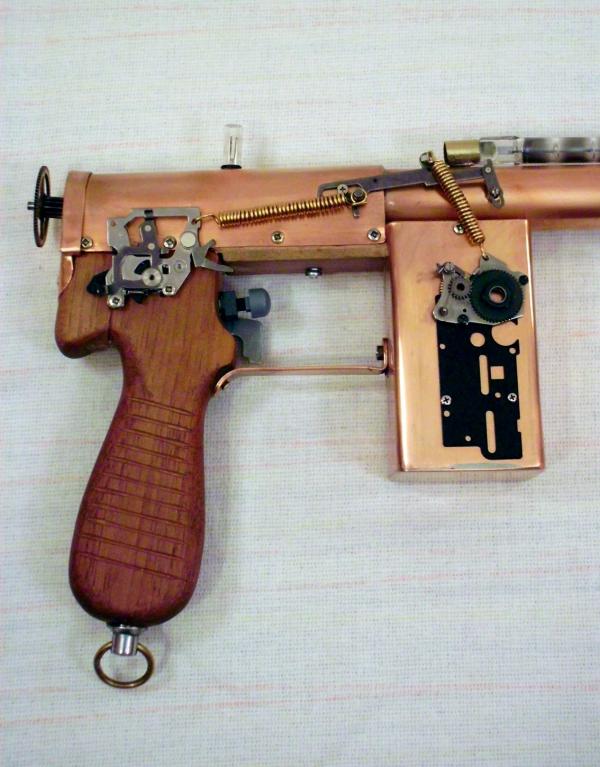 Импульсный лучевой пистолет им. Братьев Маузер (Фото 5)