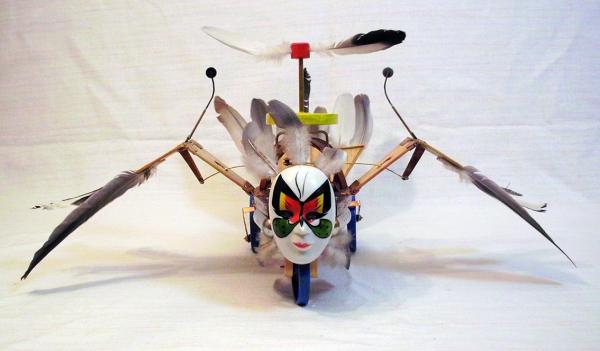 Птица Гамаюн (механическая) (Фото 3)