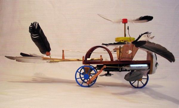 Птица Гамаюн (механическая) (Фото 5)