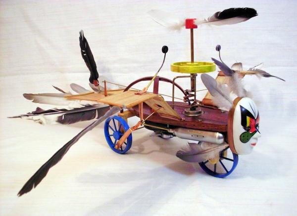 Птица Гамаюн (механическая)