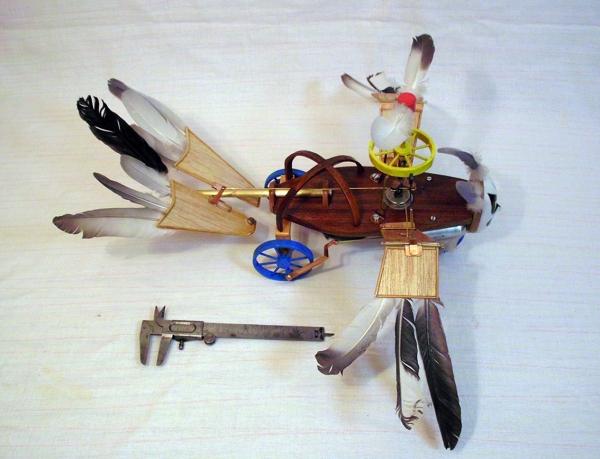 Птица Гамаюн (механическая) (Фото 6)