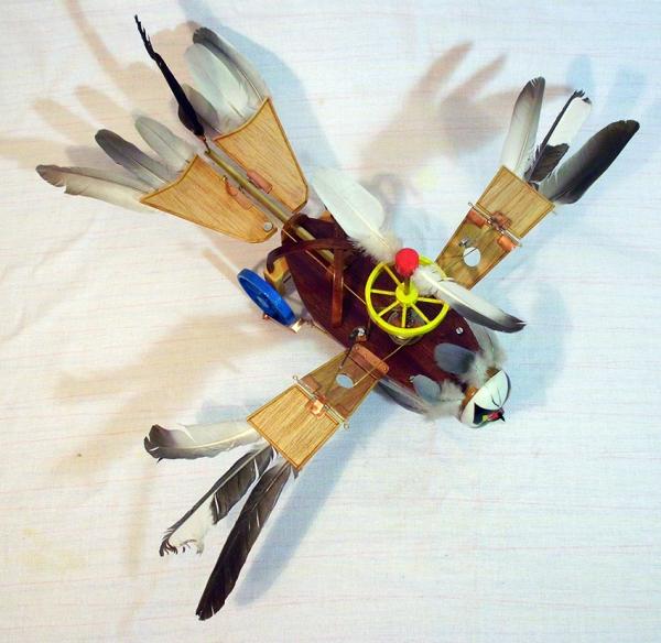 Птица Гамаюн (механическая) (Фото 4)