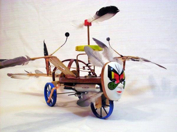 Птица Гамаюн (механическая) (Фото 2)