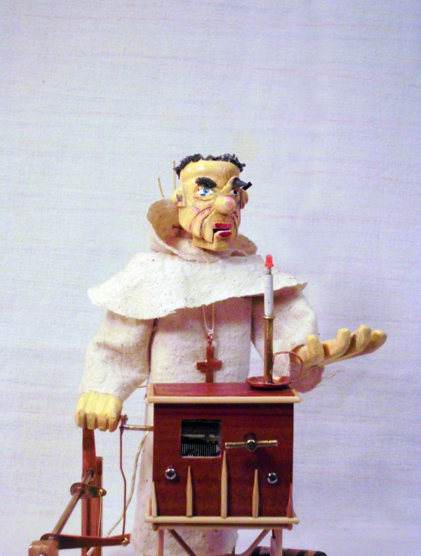 "Автоматон "" Монах и чёрт"" (Фото 2)"