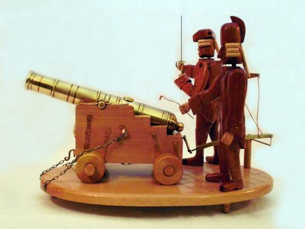 Автоматон « Крепостная артиллерия»