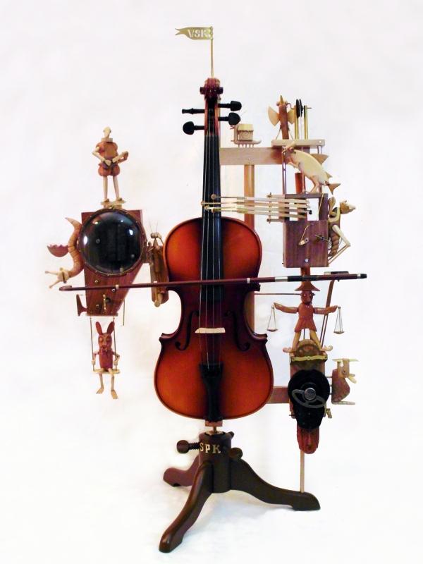 Автоматон «Волшебная скрипка»