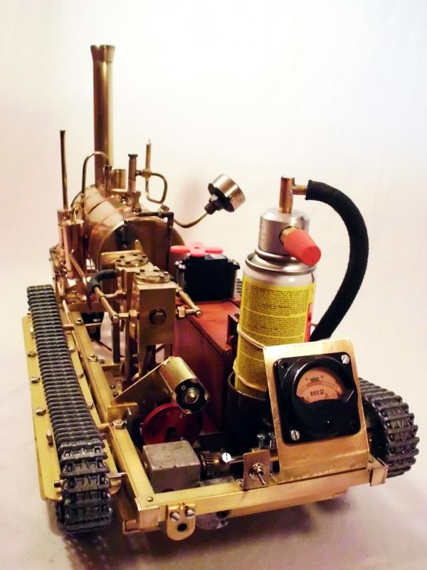 Тяжелый, имперский паровой бронетрактор прорыва!