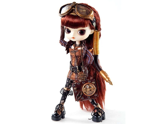 Steampunk Doll у Superheroes
