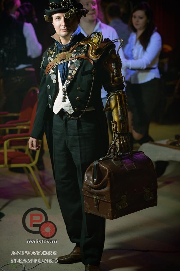 Москва. Steampunk Party 6.0 (Фото 9)