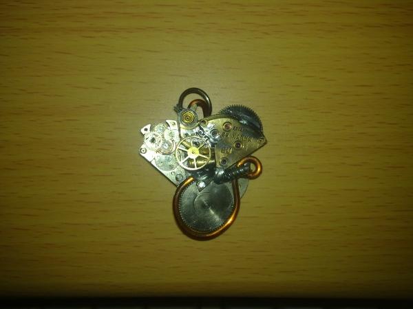 """Подвеска """"Cogwheel Heart"""" (Фото 2)"""