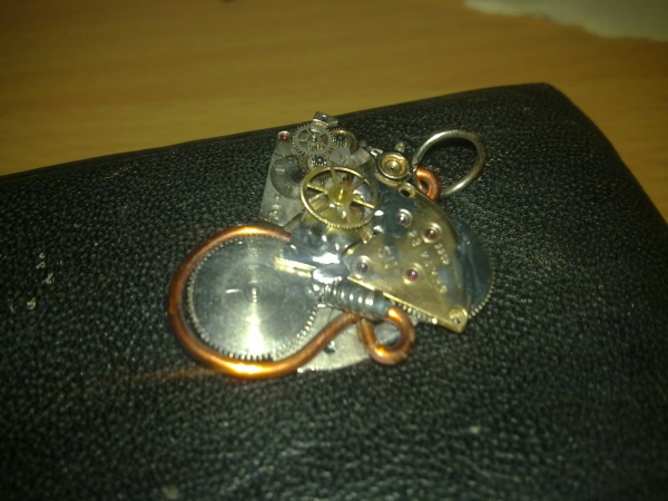 """Подвеска """"Cogwheel Heart"""" (Фото 4)"""
