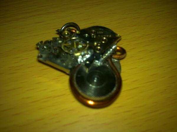 """Подвеска """"Cogwheel Heart"""""""
