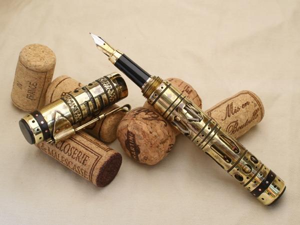 Перьевая ручка Steampen VII (ворклог, 87 фото)