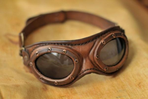 Aviator goggles.