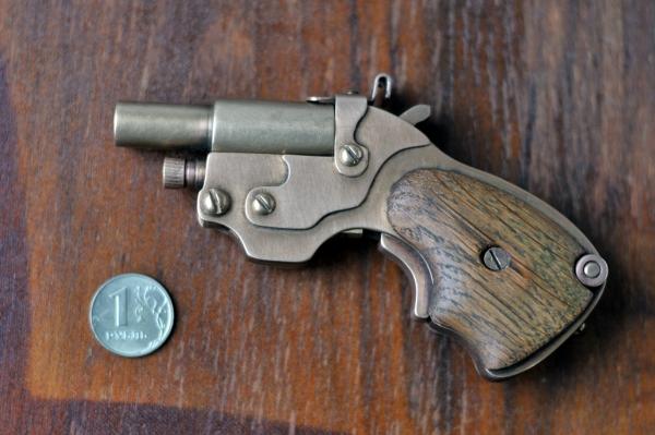 Аксессуар для истинных Леди и Джентльменов.)) Steampunk pocket pistol ! (Фото 2)