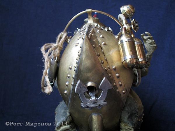 Нил Тарасович Медузин-страстный энтузиаст подводного плавания. Проект «Русский стимпанк». Серия «Русские энтузиасты подводного плавания».