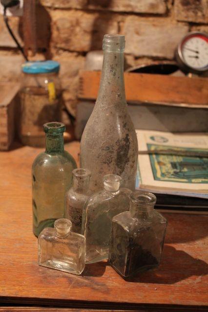 Старинные бутылочки маленькая коллекция ТИНО (Фото 5)