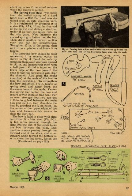 Пистолет арбалет-мечта прошлого.... (Фото 5)