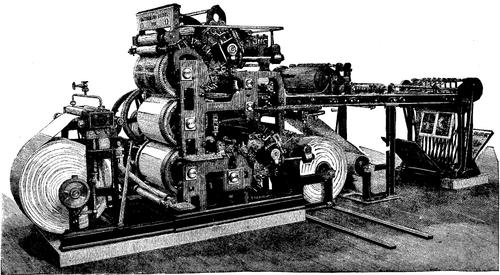 Типографское дело или страрые гравюры Старых печатных машын... (Фото 12)