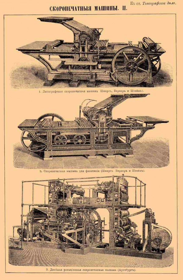 Типографское дело или страрые гравюры Старых печатных машын... (Фото 6)