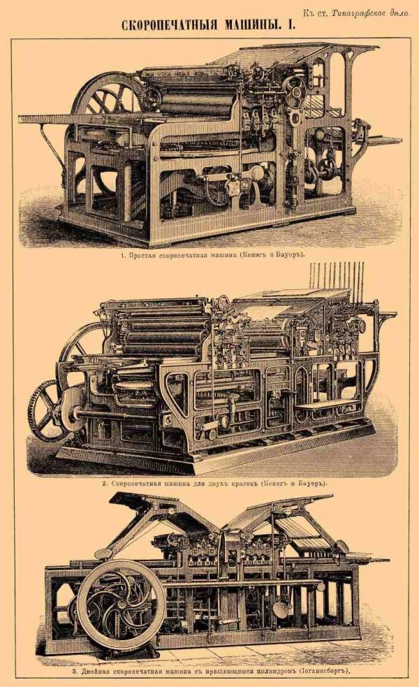 Типографское дело или страрые гравюры Старых печатных машын... (Фото 5)