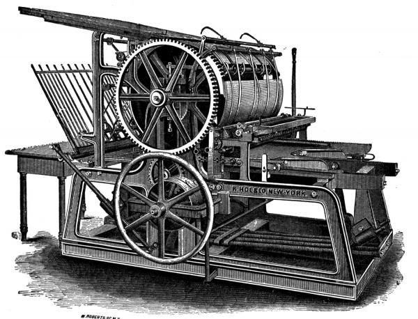 Типографское дело или страрые гравюры Старых печатных машын... (Фото 10)