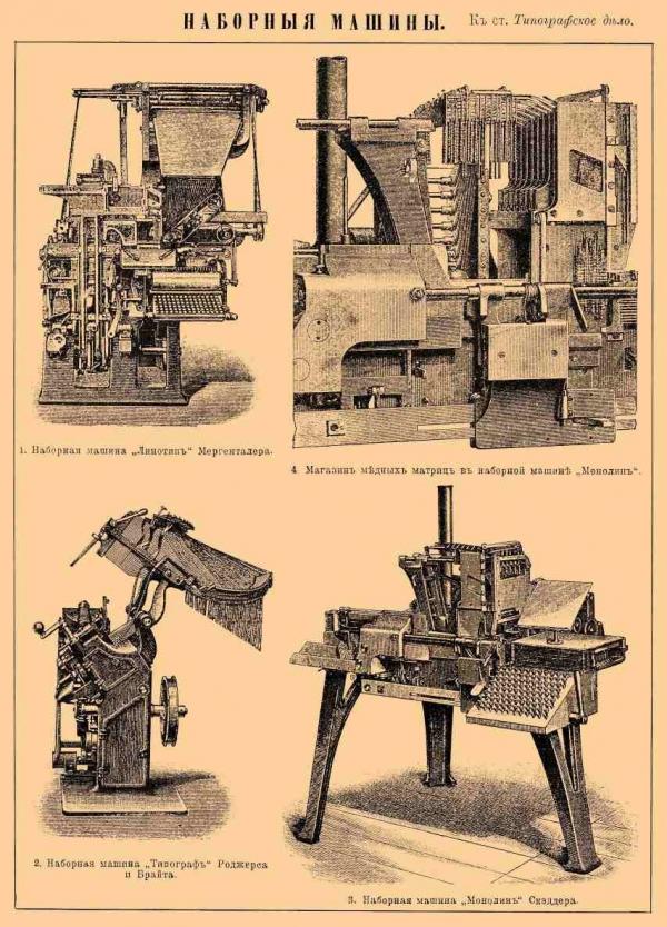 Типографское дело или страрые гравюры Старых печатных машын... (Фото 4)