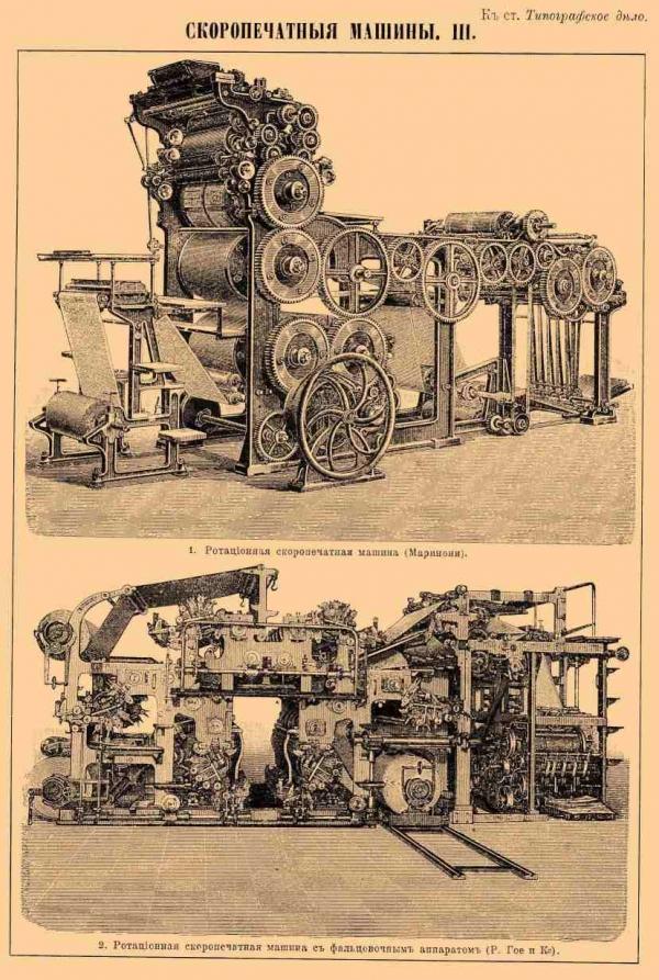 Типографское дело или страрые гравюры Старых печатных машын... (Фото 7)