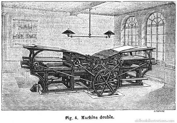 Типографское дело или страрые гравюры Старых печатных машын... (Фото 9)