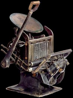 Типографское дело или страрые гравюры Старых печатных машын... (Фото 24)