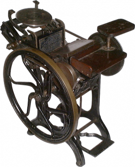 Типографское дело или страрые гравюры Старых печатных машын... (Фото 23)