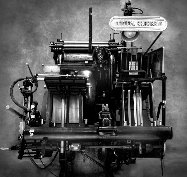 Типографское дело или страрые гравюры Старых печатных машын... (Фото 26)