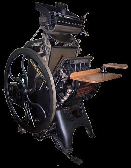 Типографское дело или страрые гравюры Старых печатных машын... (Фото 15)