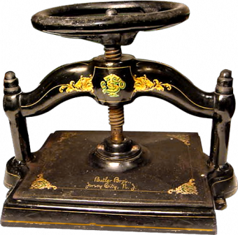 Типографское дело или страрые гравюры Старых печатных машын... (Фото 27)