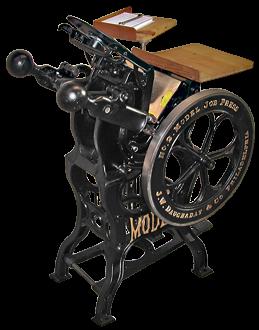 Типографское дело или страрые гравюры Старых печатных машын... (Фото 14)