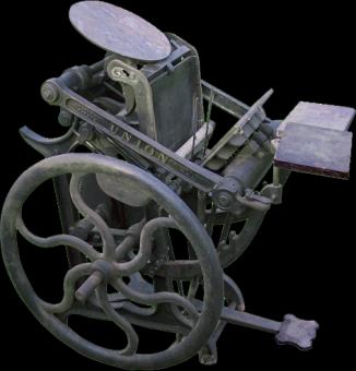 Типографское дело или страрые гравюры Старых печатных машын... (Фото 22)