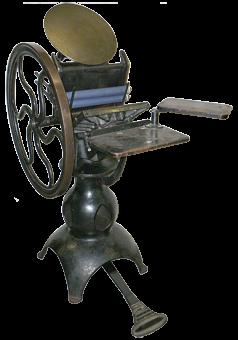 Типографское дело или страрые гравюры Старых печатных машын... (Фото 19)